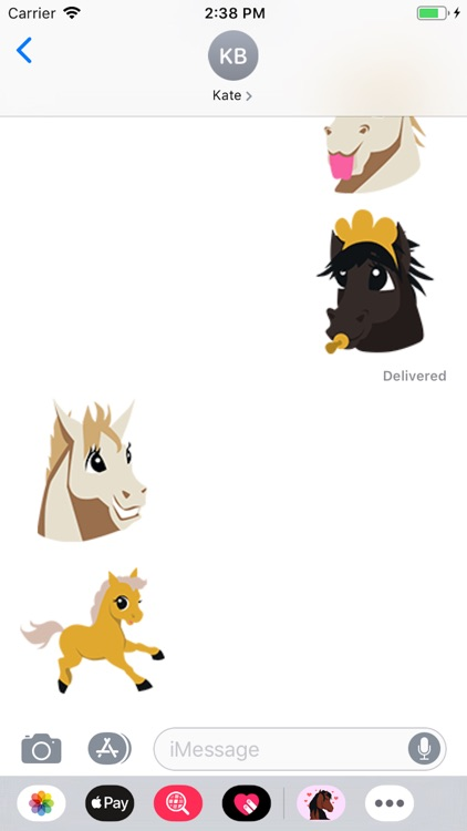 HorseMoji Horse Emoji Stickers screenshot-2