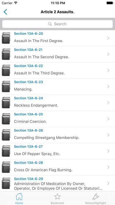 NY Penal Code & Laws screenshot three