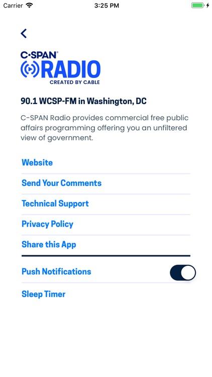 C-SPAN RADIO screenshot-3