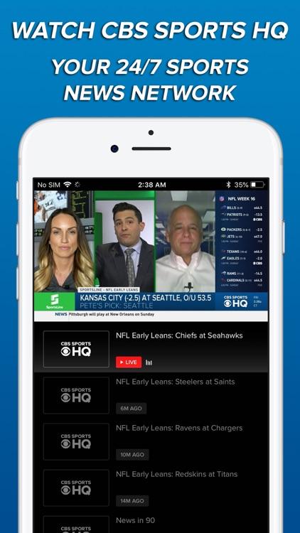 CBS Sports App Scores & News screenshot-3