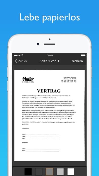 Screenshot for JotNot Scanner App Profi in Austria App Store