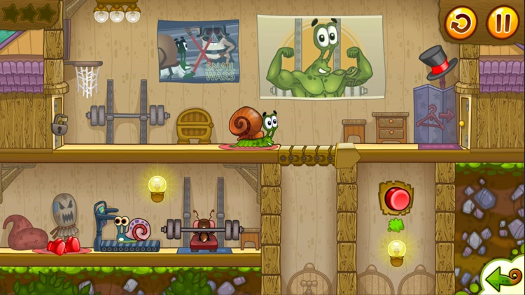 Snail Bob 2: Platform Games 2d screenshot-1