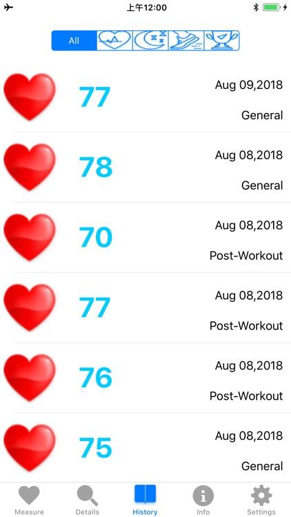 'Heart Rate Monitor screenshot-3
