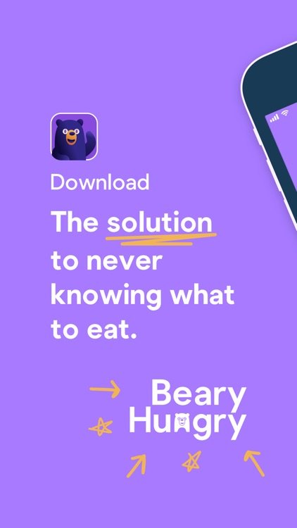 Beary Hungry: Find Food Now screenshot-0