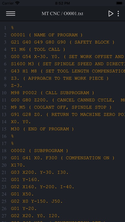 Macro Terminal CNC screenshot-6