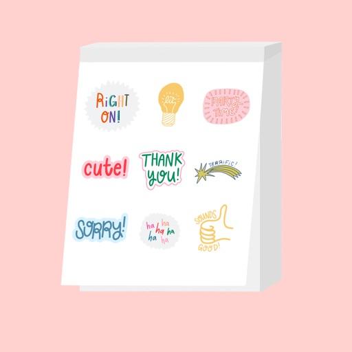 Sarah Klassen Sticker Book Pg2