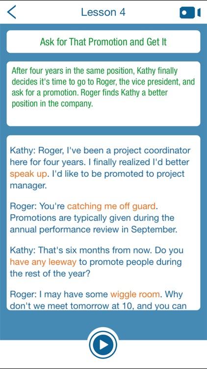 Business English Negotiations screenshot-3