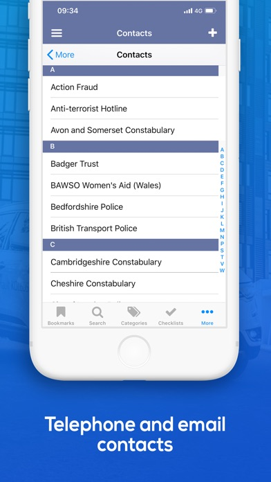 Screenshot for Pocket Sergeant - Police Guide in United Kingdom App Store