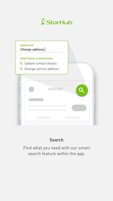 Screenshot for My StarHub in Singapore App Store