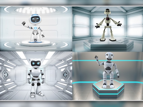 Merge Robots & Go To Mars! screenshot 8