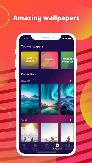 Ringtones Plus for iPhone Screenshot