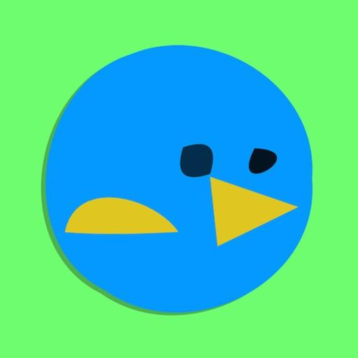 Rotating Blue Bird