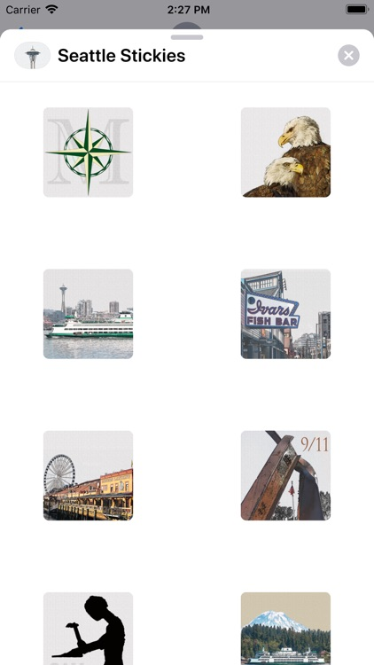 Seattle Stickies for iMessage screenshot-2