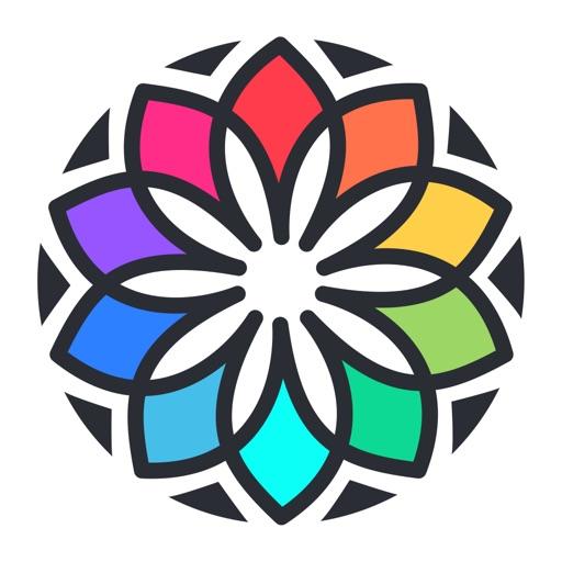 Kleurboek voor mij en Mandala