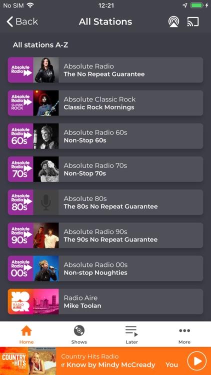 Country Hits Radio screenshot-6