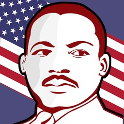 Martin Luther King Stickers
