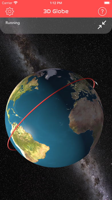 ISS Real-Time Tracker 3D Screenshots
