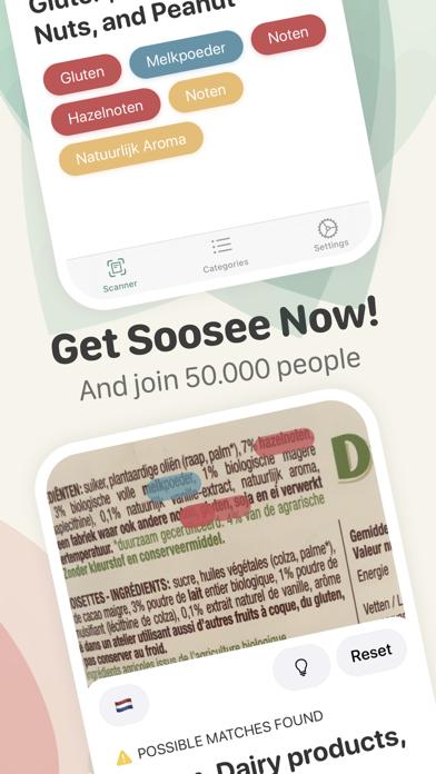 Soosee: Food Scanner Screenshot