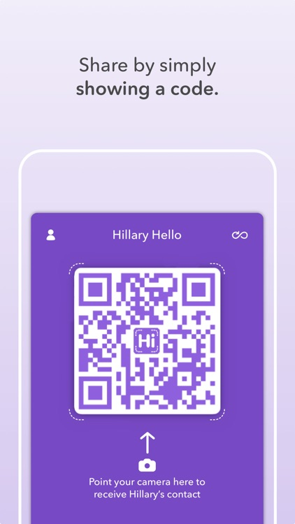 HiHello Contact Exchange