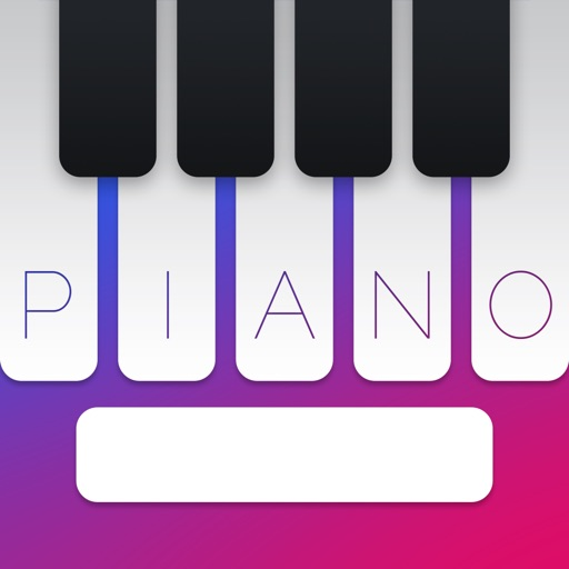 Piano Keyboard - Typing Music iOS App