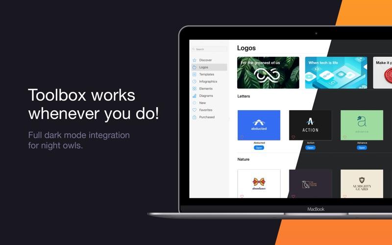 Toolbox for Pages - шаблоны скриншот программы 5