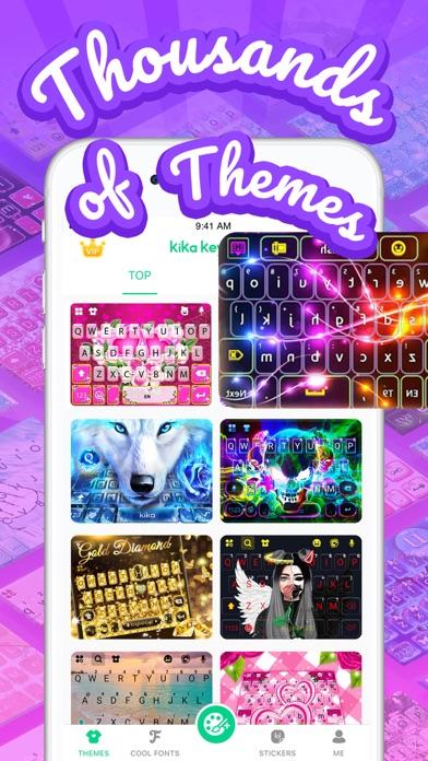 Kika Keyboard for iPhone, iPad Screenshot