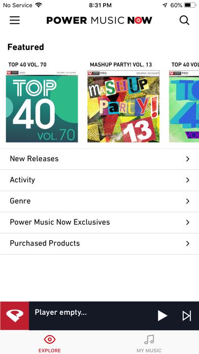 PowerMusicNow Screenshot