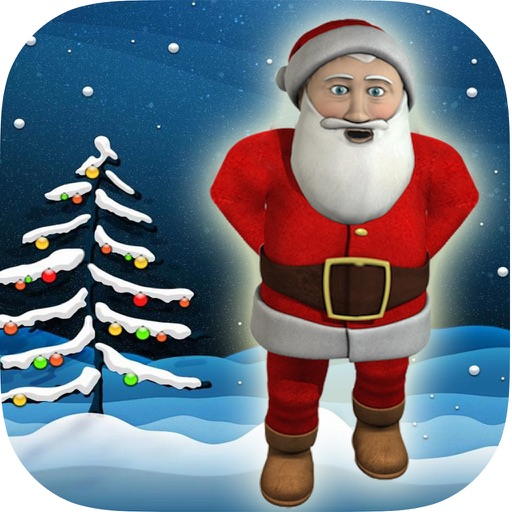 Talking Father Christmas icon
