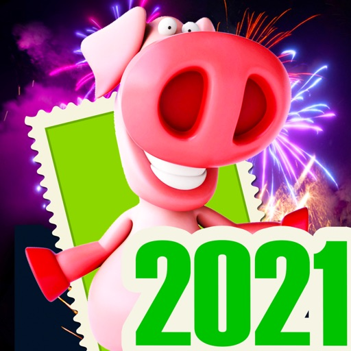 Silvester Frohes Neujahr 2021