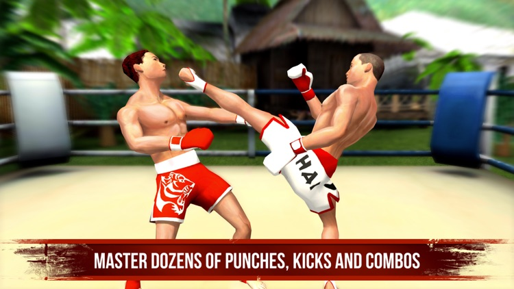 Muay Thai Fighting: Real Fight