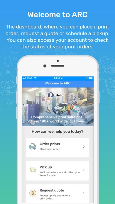 Screenshot for ARC Print in Dominican Republic App Store