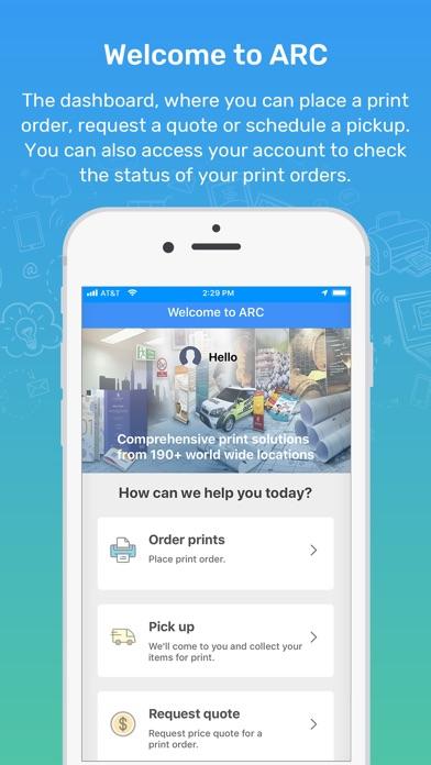 Screenshot for ARC Print in Netherlands App Store