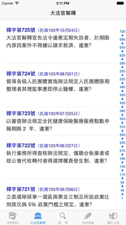 法源法典--大六法版 screenshot-4