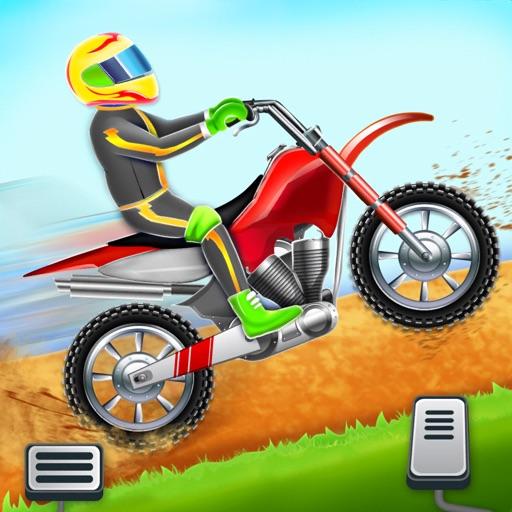 Motorbike Hill Racing Game