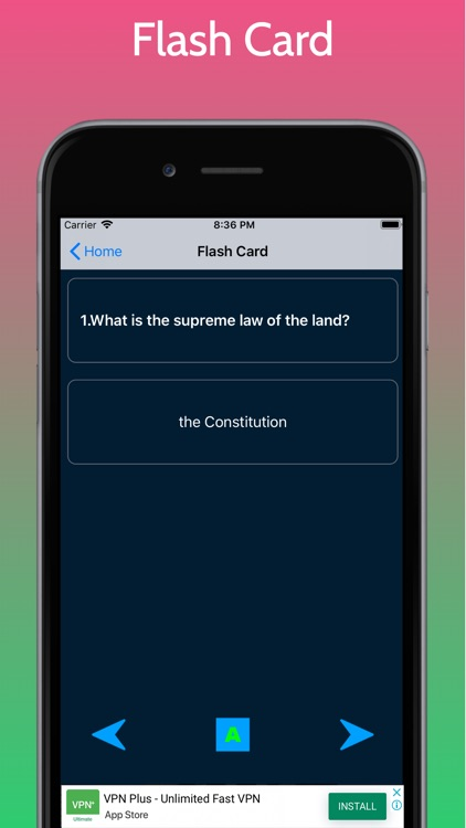 US Citizenship Test - Civics screenshot-3