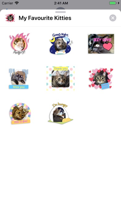 Screenshot for My Favourite Kitties in Indonesia App Store