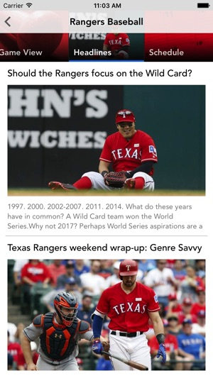 brand new 5359a 89248 Baseball Texas - Rangers News on the App Store