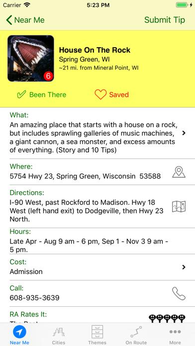 Roadside America review screenshots