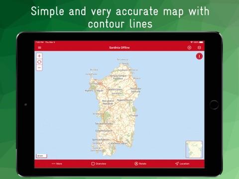 Sardinia Offline - náhled