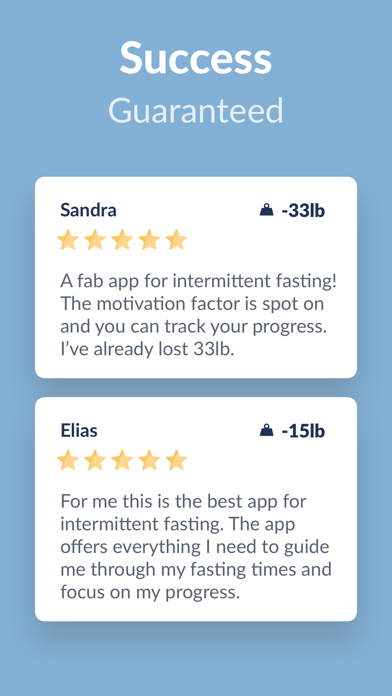 Fastic - Fasting App Screenshot