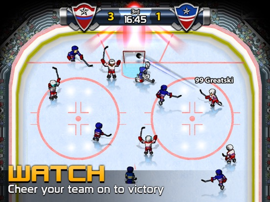 Big Win Hockey 2020 на iPad
