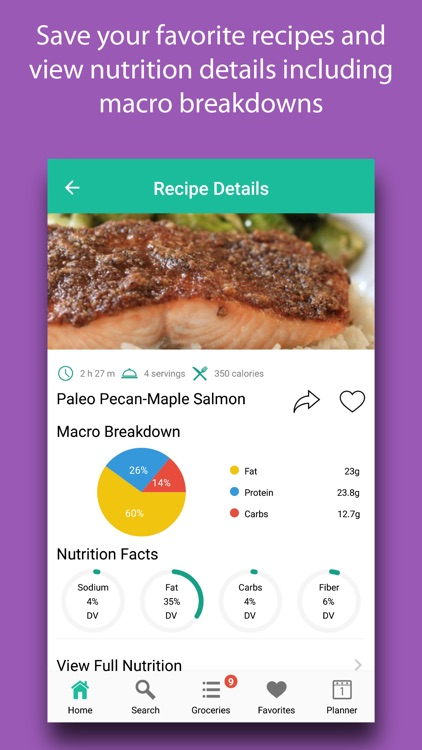Paleo Recipes & Meals screenshot-3