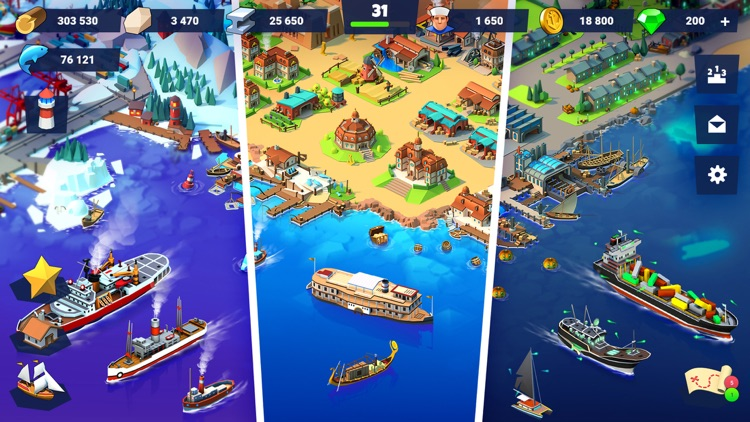 Sea Port: City Ship Tycoon screenshot-6