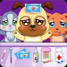 Activities of Pet Doctor Animals Caring Game
