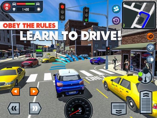 Car Driving School Simulatorのおすすめ画像1
