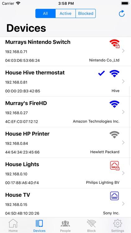 WiFi Billion Router App