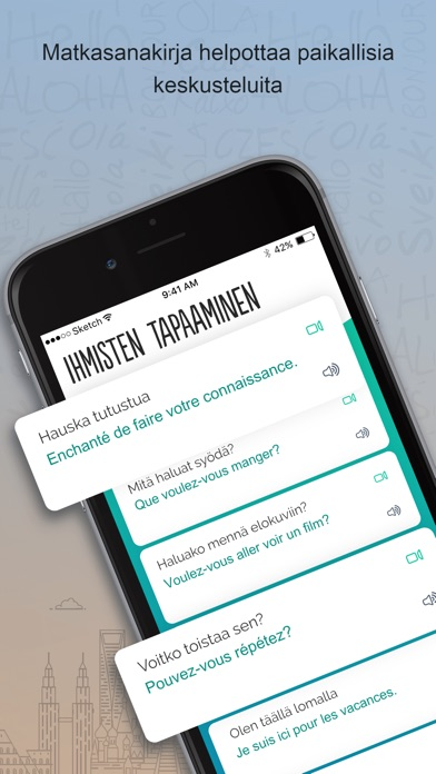 Screenshot for Ranskan Trocal in Finland App Store