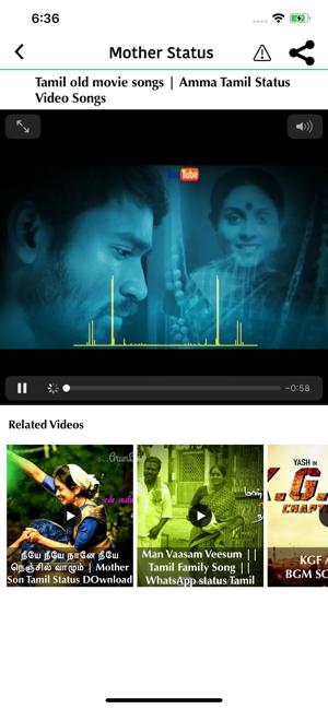 Status Videos - Tamil on the App Store
