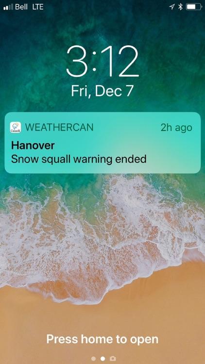WeatherCAN screenshot-7