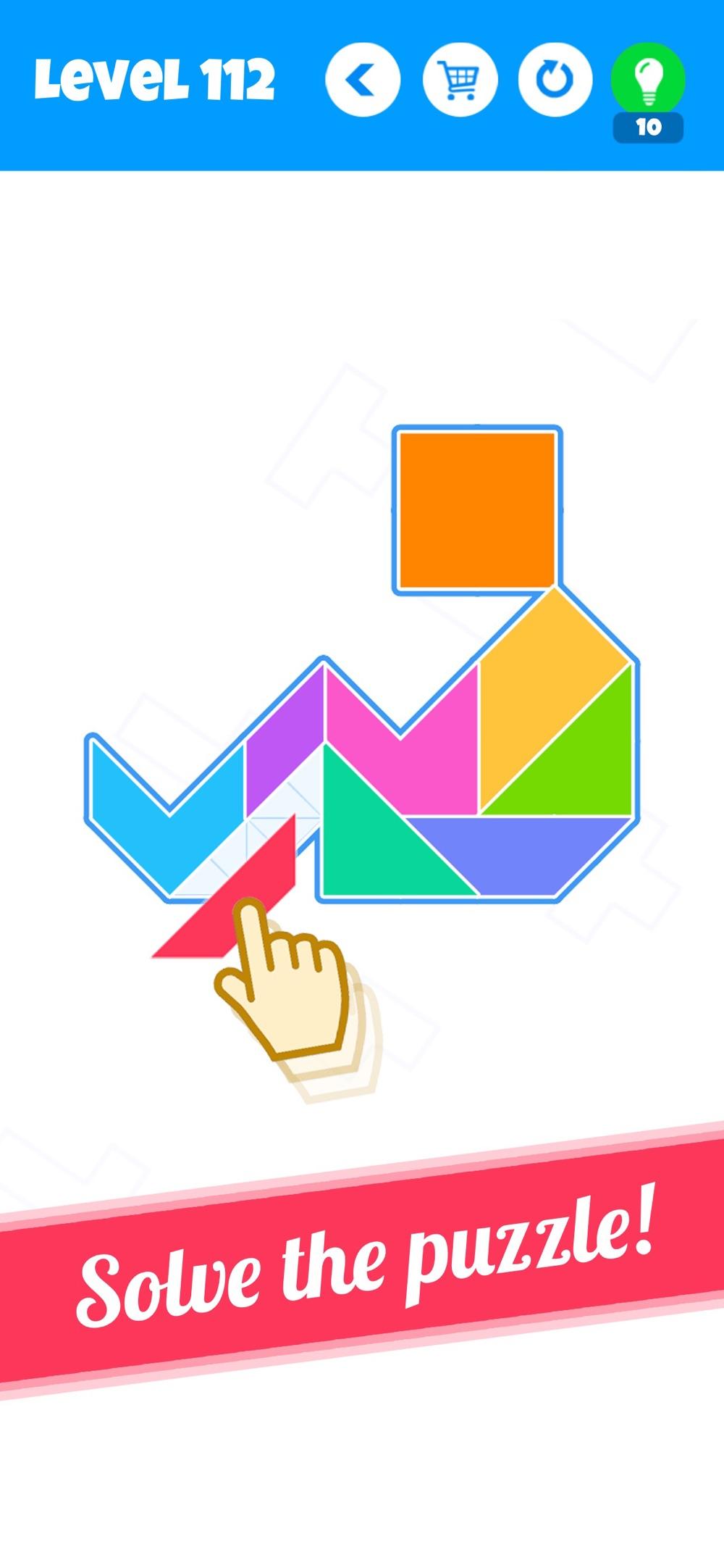 Blocks – New Tangram Puzzles Cheat Codes